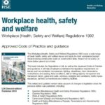 download Workplace health, safety and welfare Regulations 1992